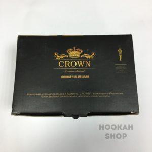 Уголь для кальяна Crown - биги 72 шт в пачке